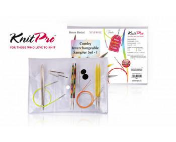 KnitPro Comby I - Starter Set 4, 5, 6 mm in Vinyltasche