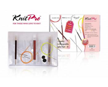 KnitPro Comby II - Starter Set 3, 4, 5 mm in Vinyltasche
