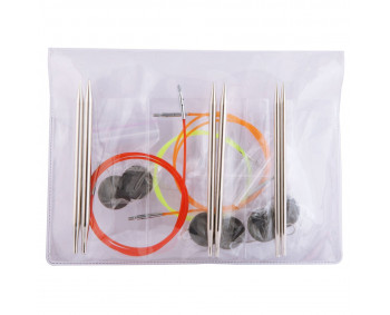 KnitPro Nova Metal - Starter Set 4, 5, 6 mm in Vinyltasche