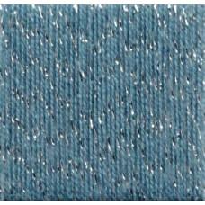 Konengarn Lurex Stärke 13/1 Nm - Farbe Meer/Silber- ca. 1000g