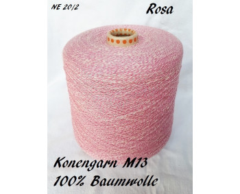 Konengarn M13 - Rosa - 100% Baumwolle -  ca. 950g