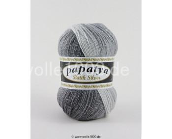 555-01 - Papatya Batik Silver - grautöne 100g