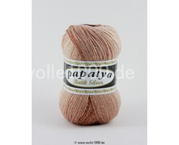 555-02 - Papatya Batik Silver - brauntöne 100g
