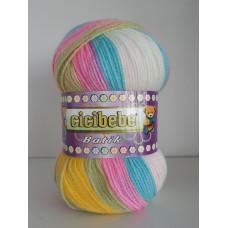 !NEU! 550-45 - Cicibebe - Crazy Color 100g