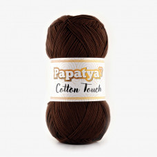 Farbe 0160 braun - Papatya Cotton Touch - 100g