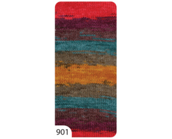 Farbe 901 - Ören Bayan Favori Batik 100g