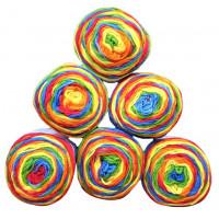 Sonderposten Sparpack Bulky 6x150g = 900g  Farbe : 213 Regenbogen