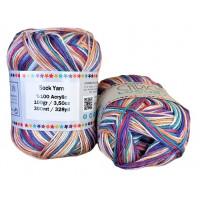 Sock Yarn - Acryl - 100g - Sonderposten - Farbe S114
