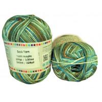 Sock Yarn - Acryl - 100g - Sonderposten - Farbe S116