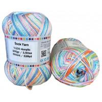 Sock Yarn - Acryl - 100g - Sonderposten - Farbe S117
