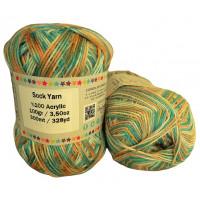 Sock Yarn - Acryl - 100g - Sonderposten - Farbe S120