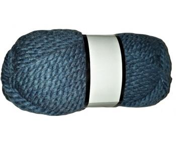 "!Bastelgarn! ""Sample"" 100g Sonderposten - Farbe 30067 blaugrau"