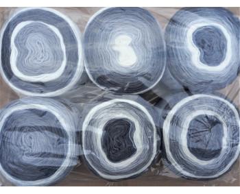 6er Pack Mandala Sonderposten - 6x150g Cake - Farbe 10