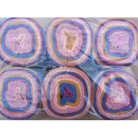 6er Pack Mandala Sonderposten - 6x150g Cake - Farbe 15
