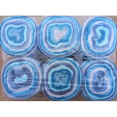 6er Pack Mandala Sonderposten - 6x150g Cake - Farbe 16