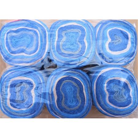 6er Pack Mandala Sonderposten - 6x150g Cake - Farbe 21