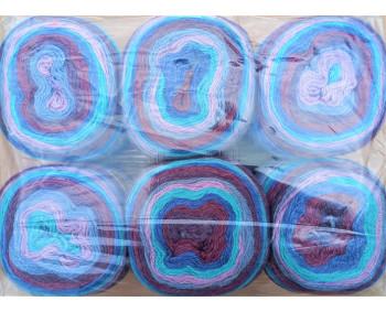 6er Pack Mandala Sonderposten - 6x150g Cake - Farbe 22