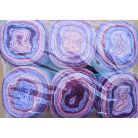 6er Pack Mandala Sonderposten - 6x150g Cake - Farbe 23