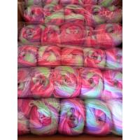 Sonderposten Sparpack 5x100g = 500g - 33 mint-rosa-lila