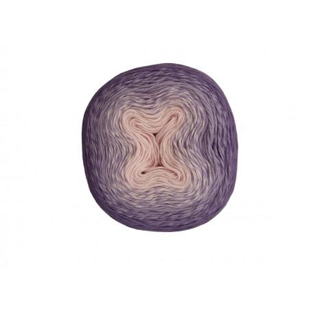 Wolle1000 - Trend Cotton - Farbe 304 (Rosa-Lavendel-Lila) 1000m Bobbel